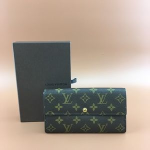 Preowned Louis Vuitton Sarah Vintage Long Wallet